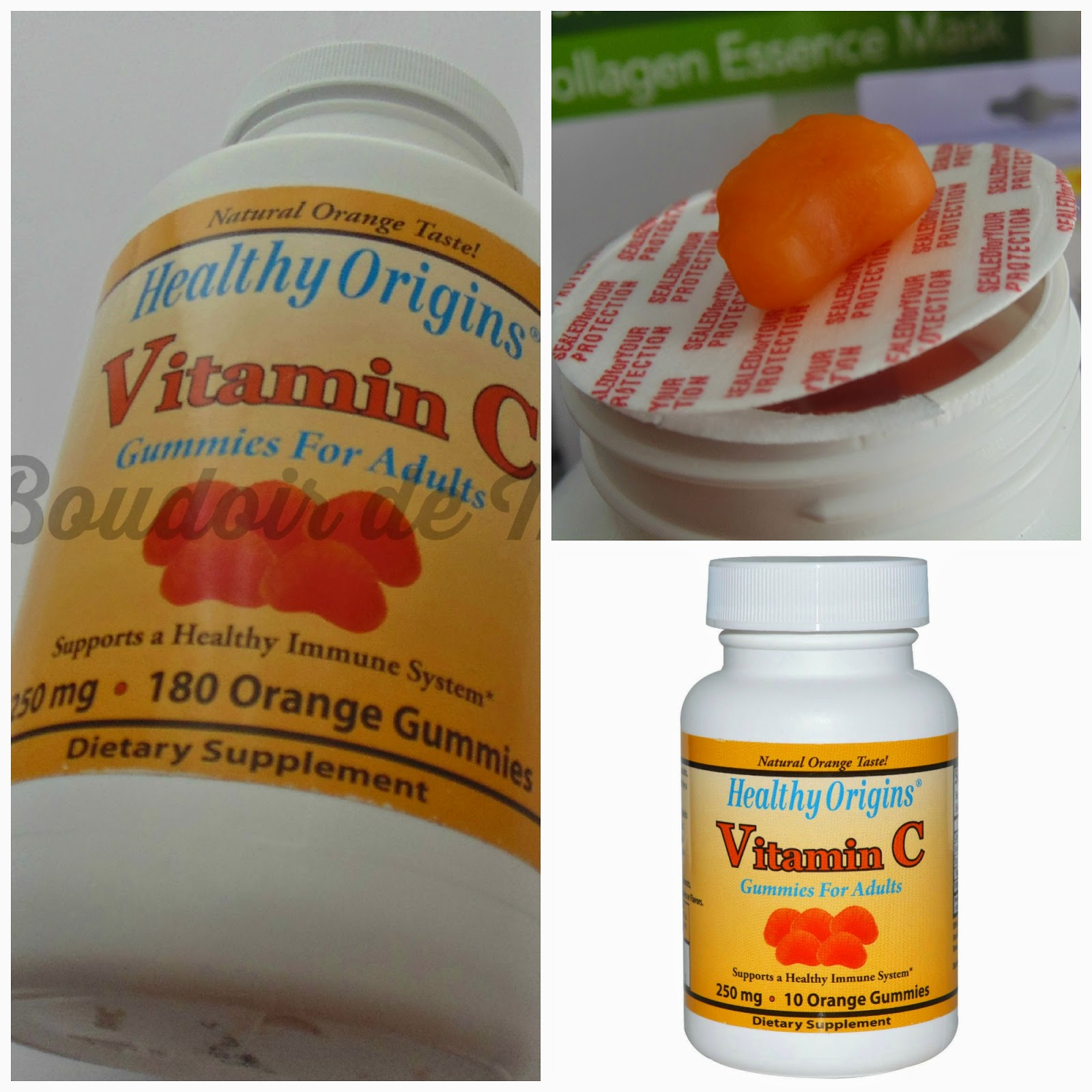 Vitamina c en gominolas Vitamin C gummies