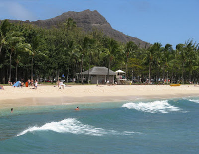 picture of waikiki beach