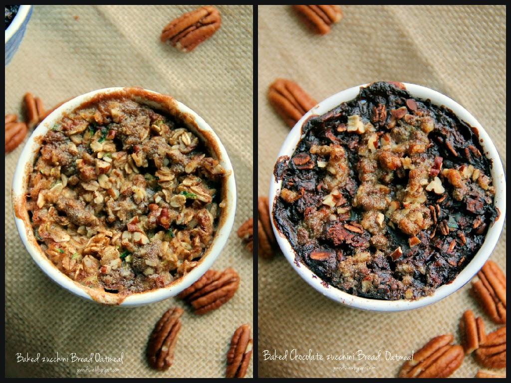 ... Zucchini Bread Oatmeal and Baked Chocolate Zucchini Bread Oatmeal