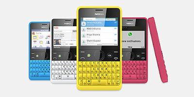 Nokia Asha 210, HP Murah 600ribu fitur WhatsApp