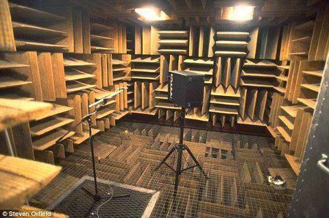 بالصور...أكثر غرفة هدوءا فى العالم..تعزل 99% من الاصوت الخارجية  - silent room