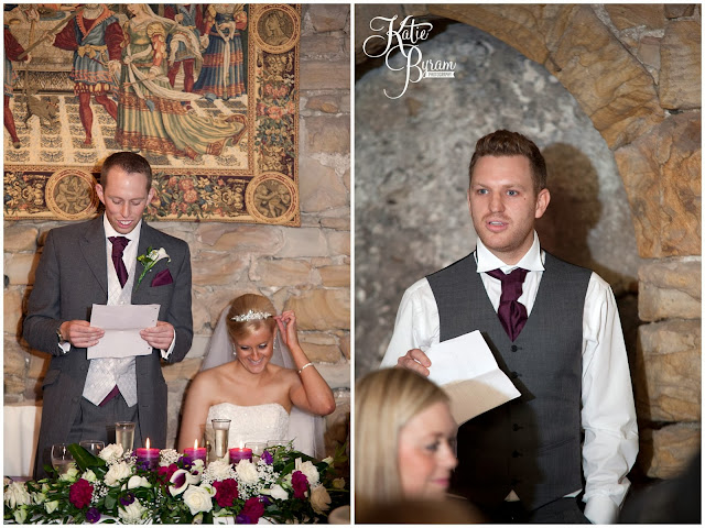 wedding speeches, , crook hall durham wedding, st michaels houghton le spring wedding, crook hall and gardens, durham wedding venue, katie byram photography, durham wedding photographer, newcastle wedding photographer, relaxed weddings durham, purple wedding, calla lillies