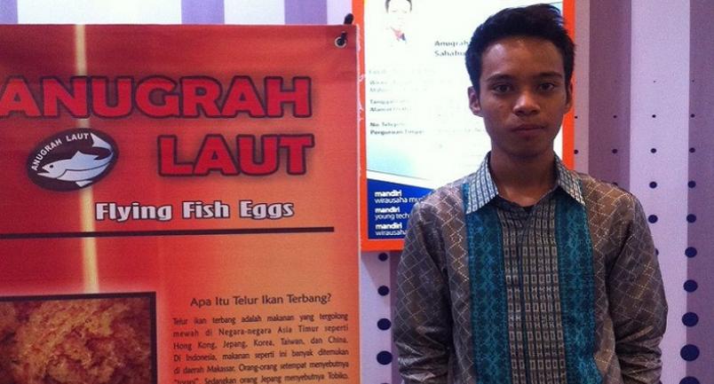 Wirausaha Muda Sukses Ekspor Telur Ikan Terbang