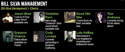 Greyson Chance New Management Label Bill Silva 2013