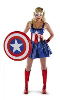 Female Captain America Costume