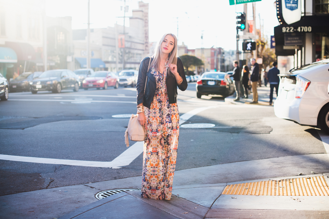 Bryn Newman of Stone Fox Style wearing Rebecca Minkoff in San Francisco