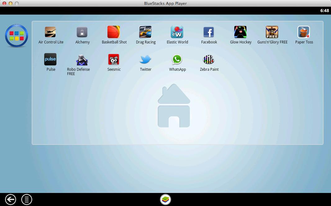 BlueStacks 2014 Android HD App Player Full indir