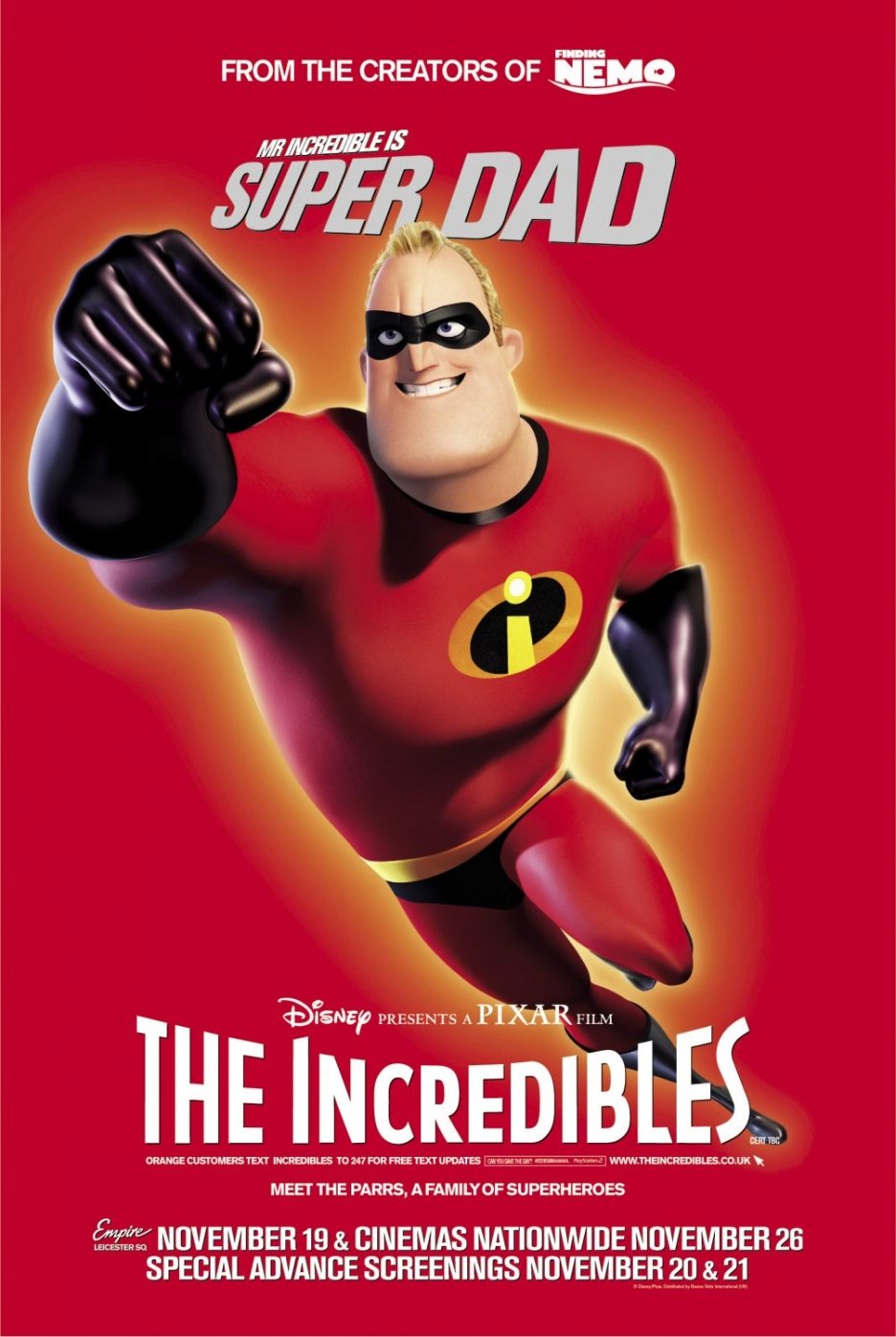 The Incredibles full movie