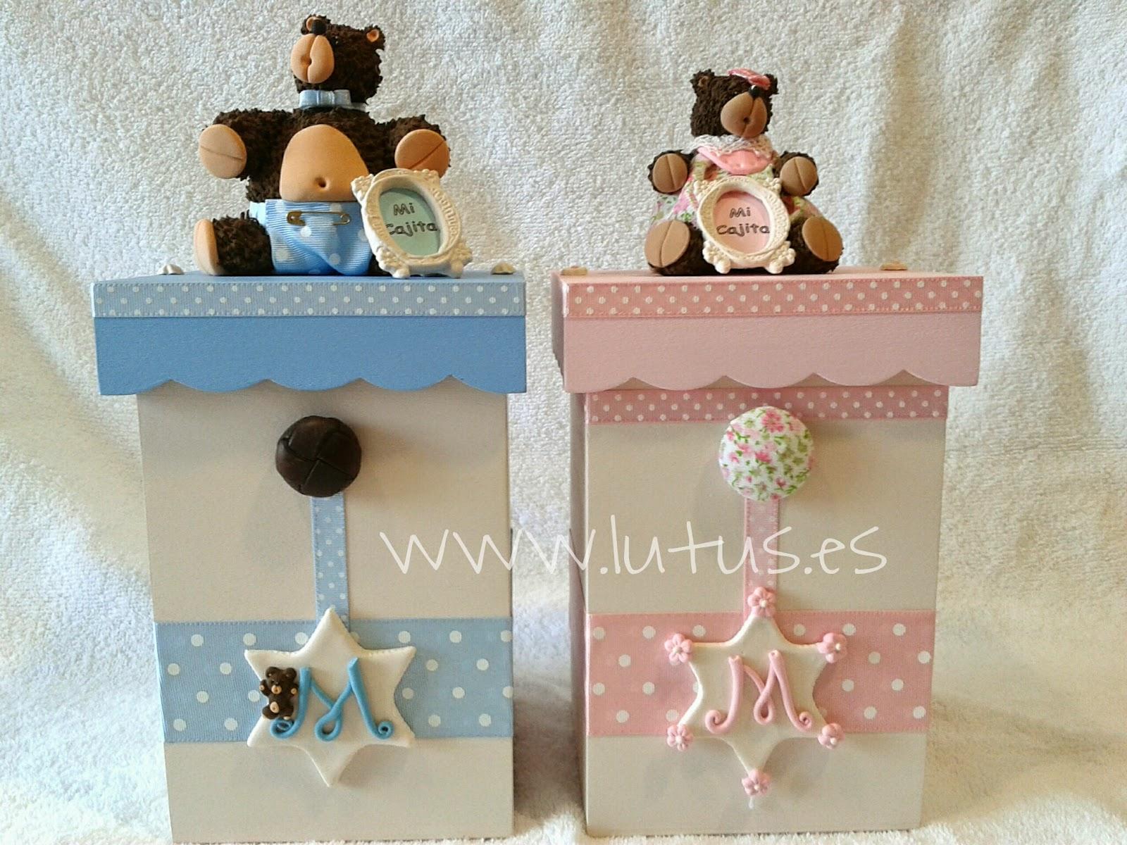 Lutus hecho a mano cajas regalo personalizadas pintadas y - Cajas decoradas a mano ...