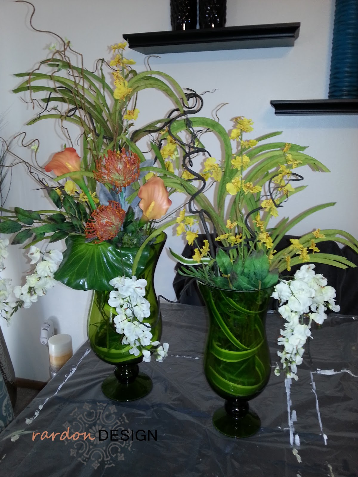 Custom flower arrangement rardon designrardon design