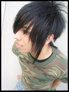 emo haircuts for boys