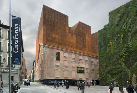 My magical attic caixa forum madrid design by herzog de for Herzog de meuron madrid