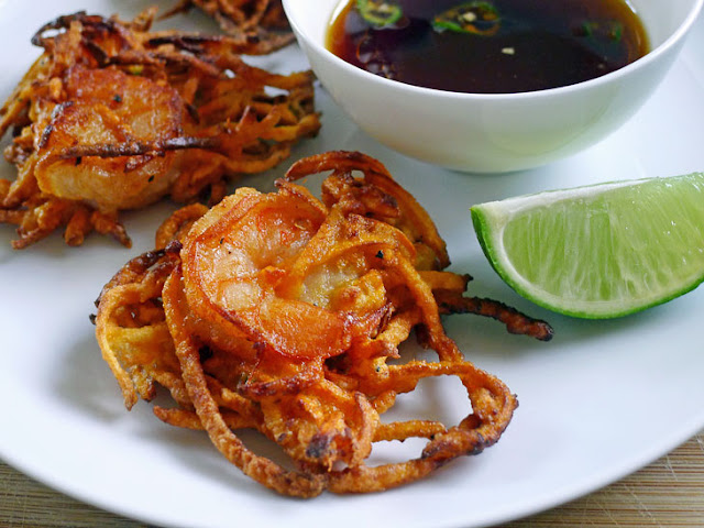 Cooking Weekends: Fried Shrimp Cakes