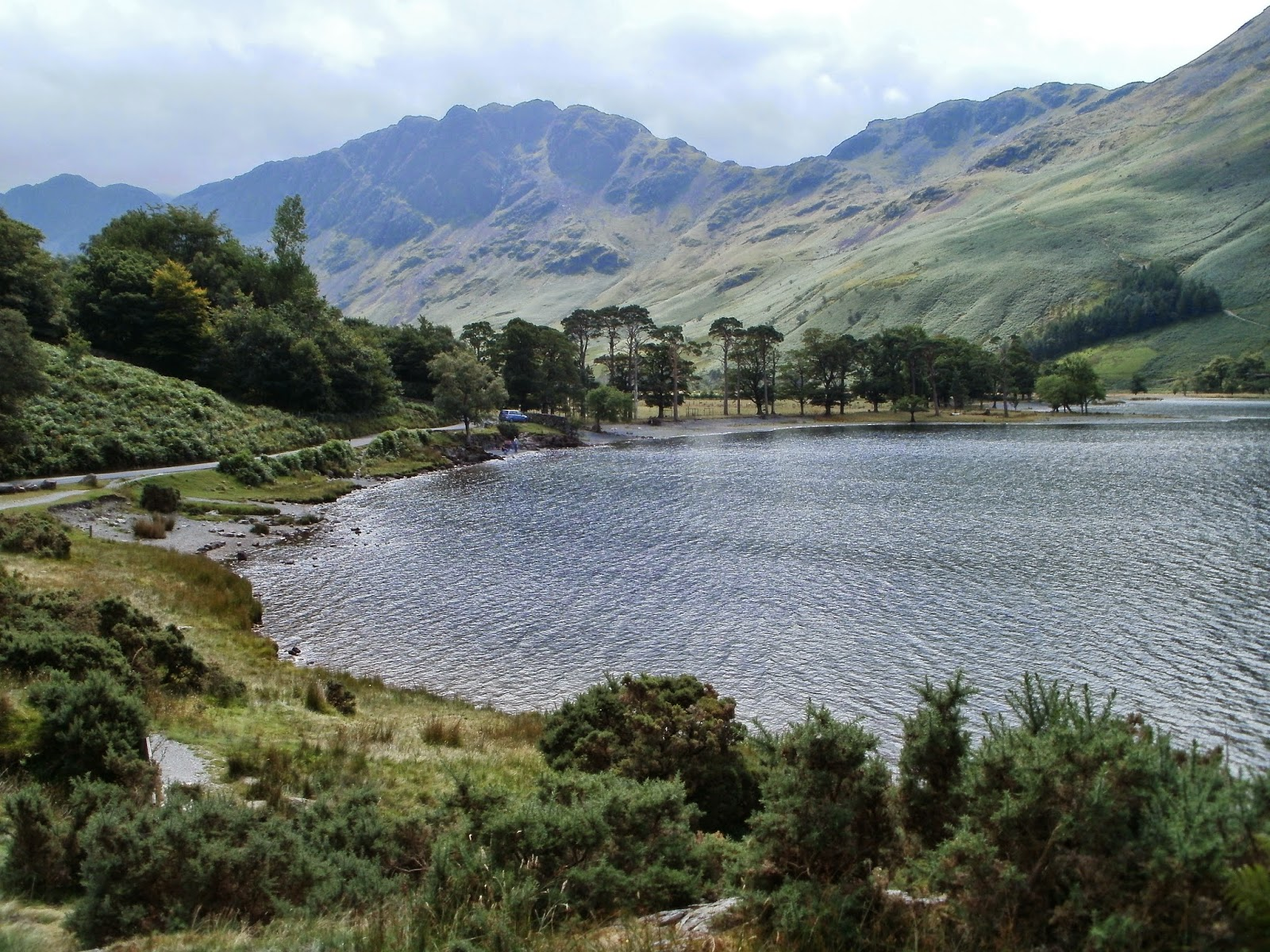 Lake District Lake Buttermere