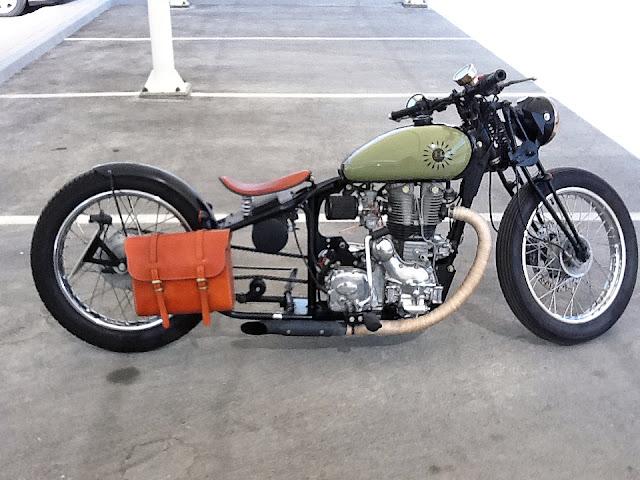 Custom Royal Enfield Bobber | Royal Enfield Bobber | The Machismo | Royal Enfield Bobber for sale | Royal Enfield Bobber motorcycle | Royal Enfield Bobber kit | way2speed.com
