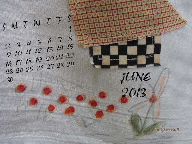 June, 2013 Calendar