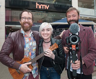 Hamsandwich HMV Galway Film Fleadh
