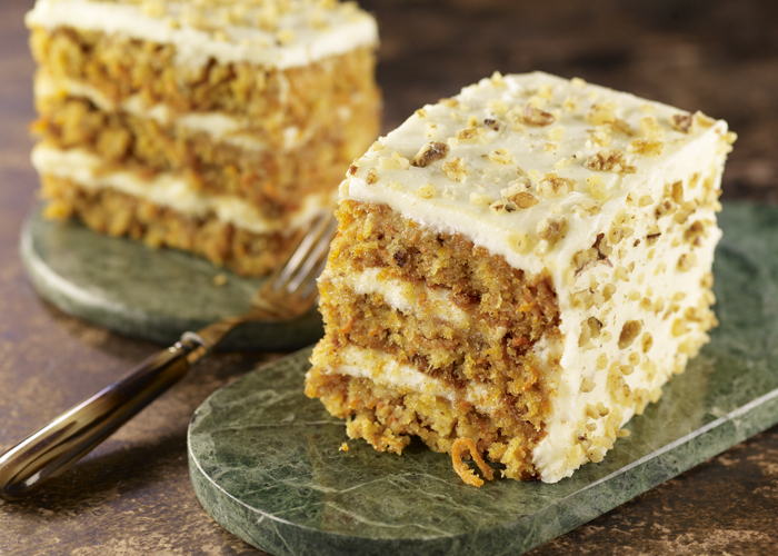 CELEBRATE NATIONAL CARROT CAKE DAY @ STONEFIRE GRILL - IRVINE