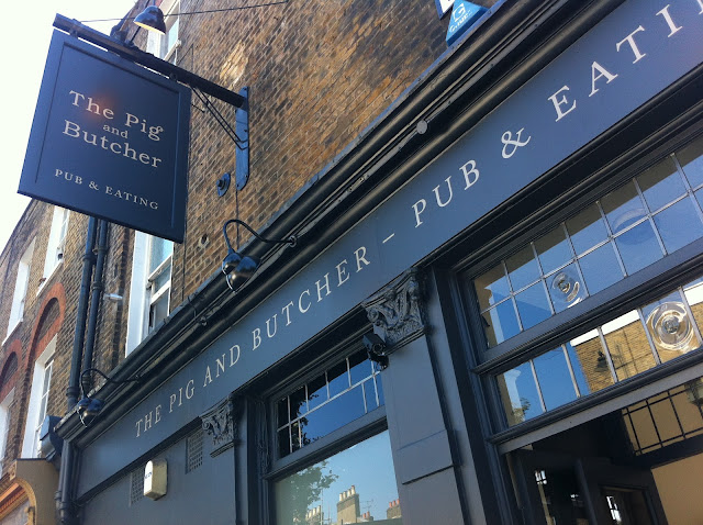 The Pig and Butcher Pub Liverpool Road Islington gastropub review