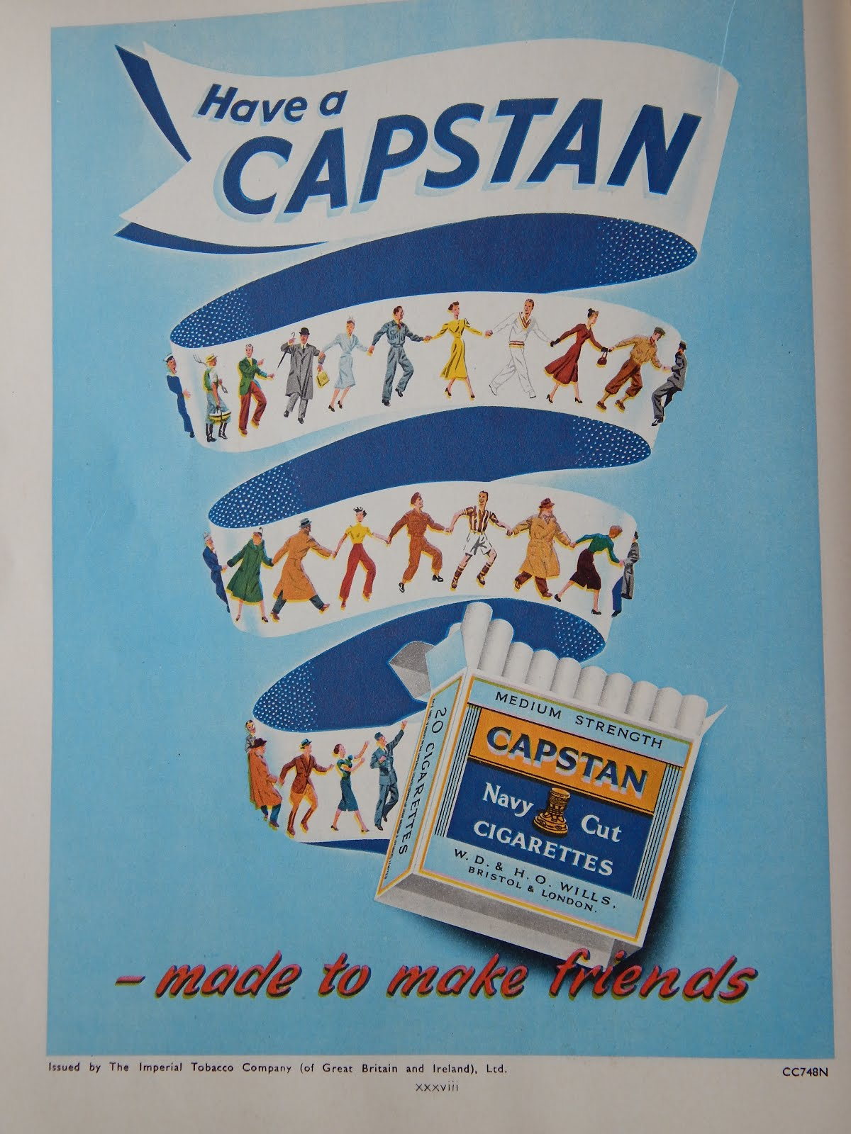 Now who remembers Capstan Full Strength?