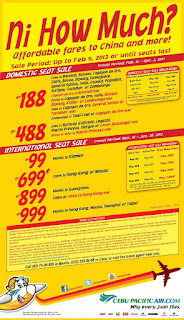 cebu pacific promo 2013 china