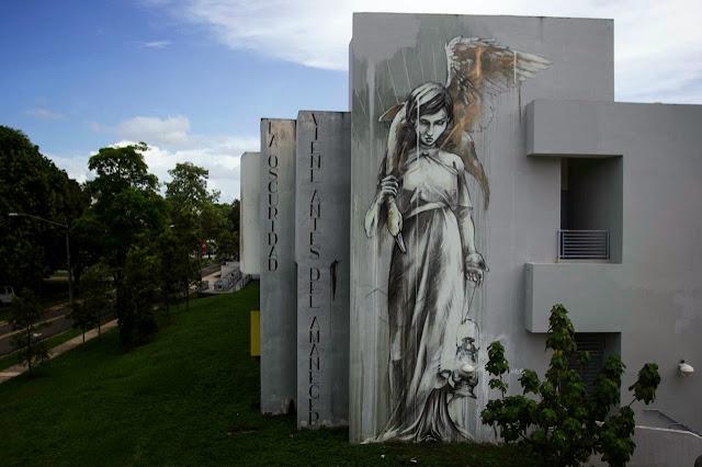 """Marauders"" New Street Art Mural By Faith47 For Los Muros Hablan '13 In Puerto Rico. 3"