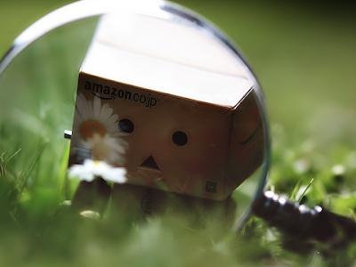 Danbo robot cartón