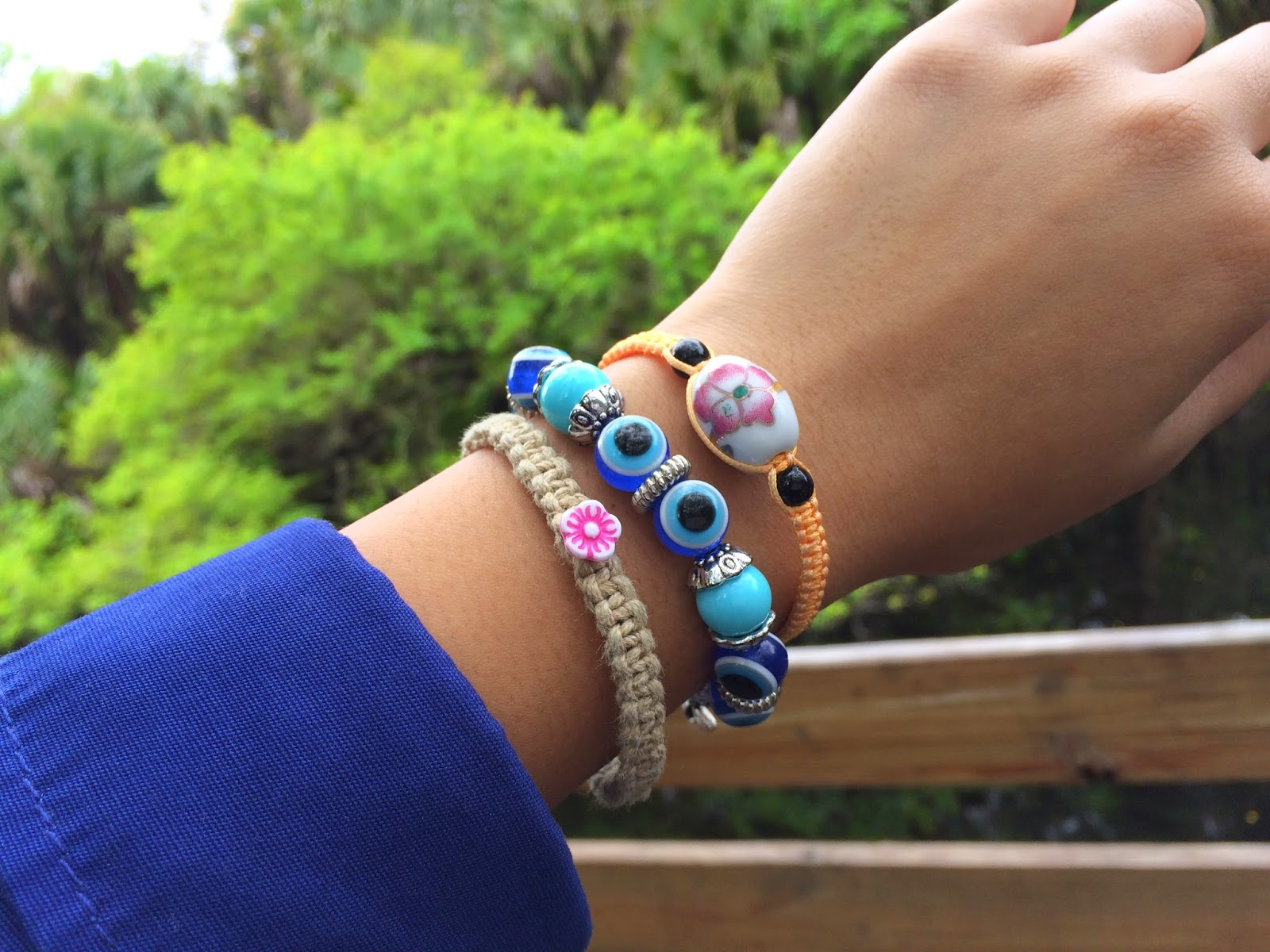 layered bracelets, world traveler trend, boho jewelry