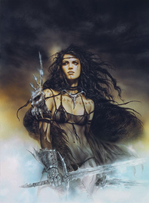 Weapons: Warrior Women fantasy