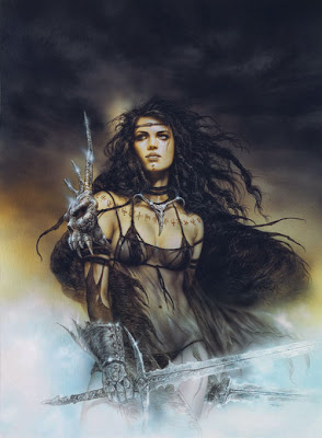 fantasy warrior women art fantastic fighting female
