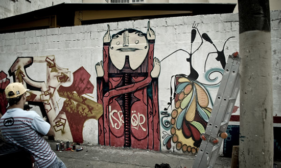 Graffiti Art by Iskor