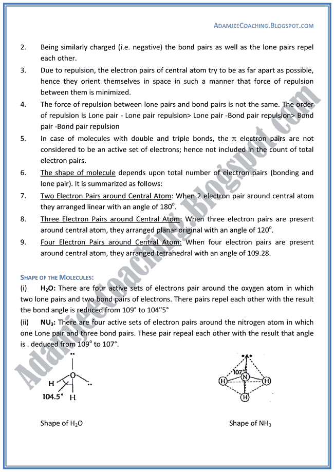 Chemistry Lectures - Chemical Bonding