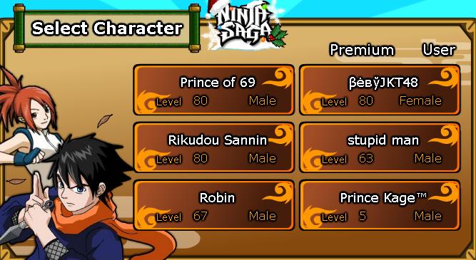 Jual Char NS Naruto Kyubi Style Clan Rewad Emblem Usher