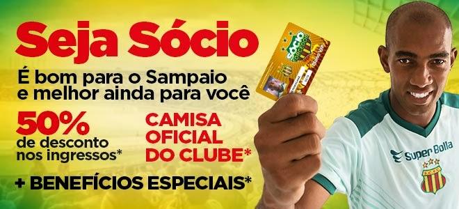 APERTE O LINK ABAIXO E SEJA SÓCIO SAMPAIO CORRÊA