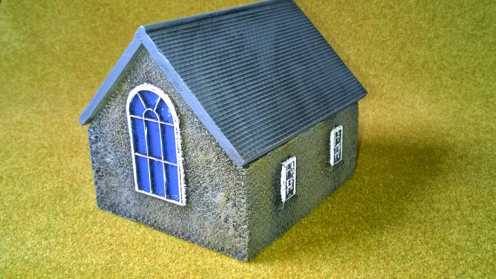 vbcw 28mm wargame church scenery
