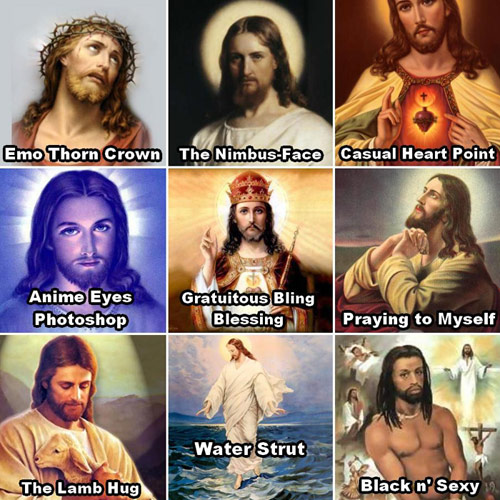Funny Jesus Christ Moods Picture Meme