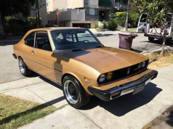 1974 Mazda Rx2 Coupe Gold Auto Restorationice