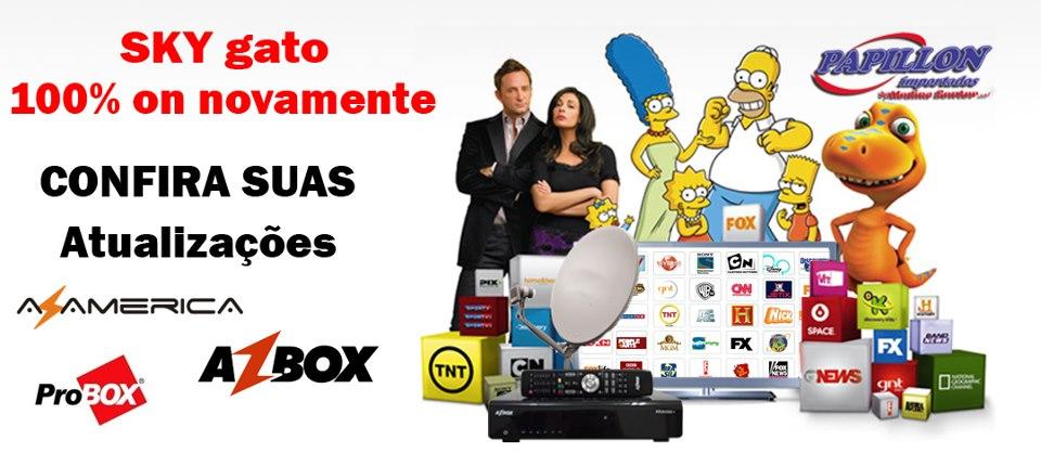 Novas Atualizações Azbox e I-box