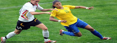 Photo couverture facebook football féminin