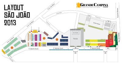 Novo layout do Parque do Povo para o São João em Campina Grande
