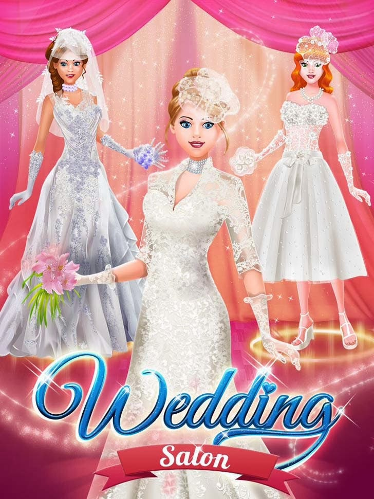 Wedding Salon - Spa Makeover, Dress Up, Makeup & Photo Fun App iTunes App By Kids Fun Club by TabTale - FreeApps.ws