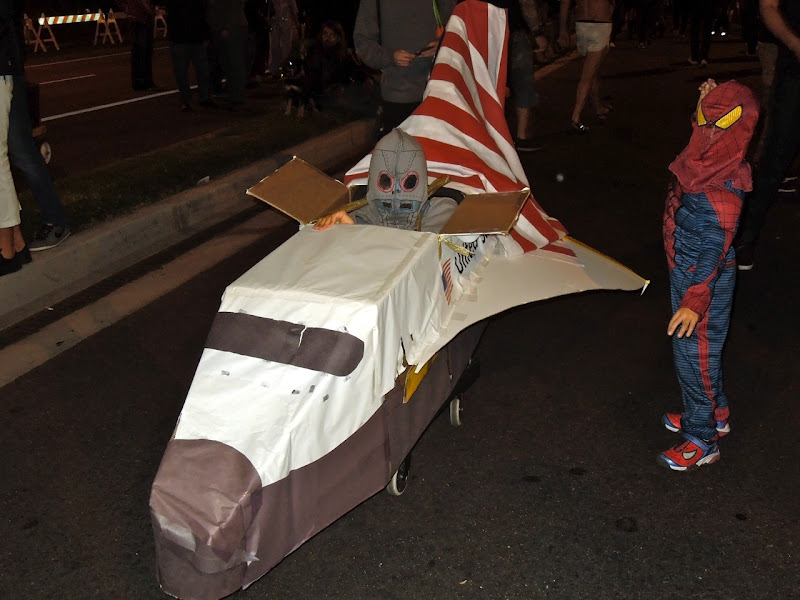 Space shuttle Endeavour West Hollywood Halloween Carnaval