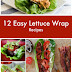 12 Easy Lettuce Wrap Recipes