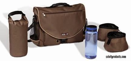 Solvit's HomeAway Travel Bag kit contents