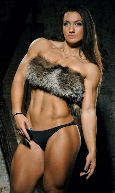 Valentina Mishina - Female Bodybuilder