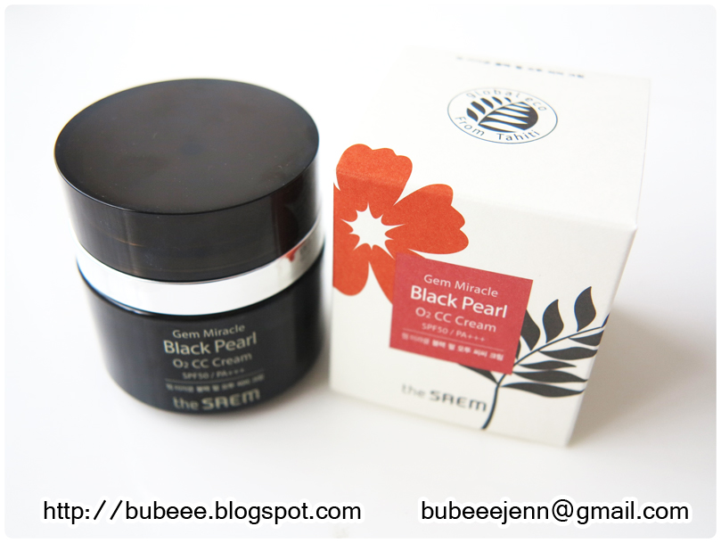 the saem black pearl o2 bubble mask