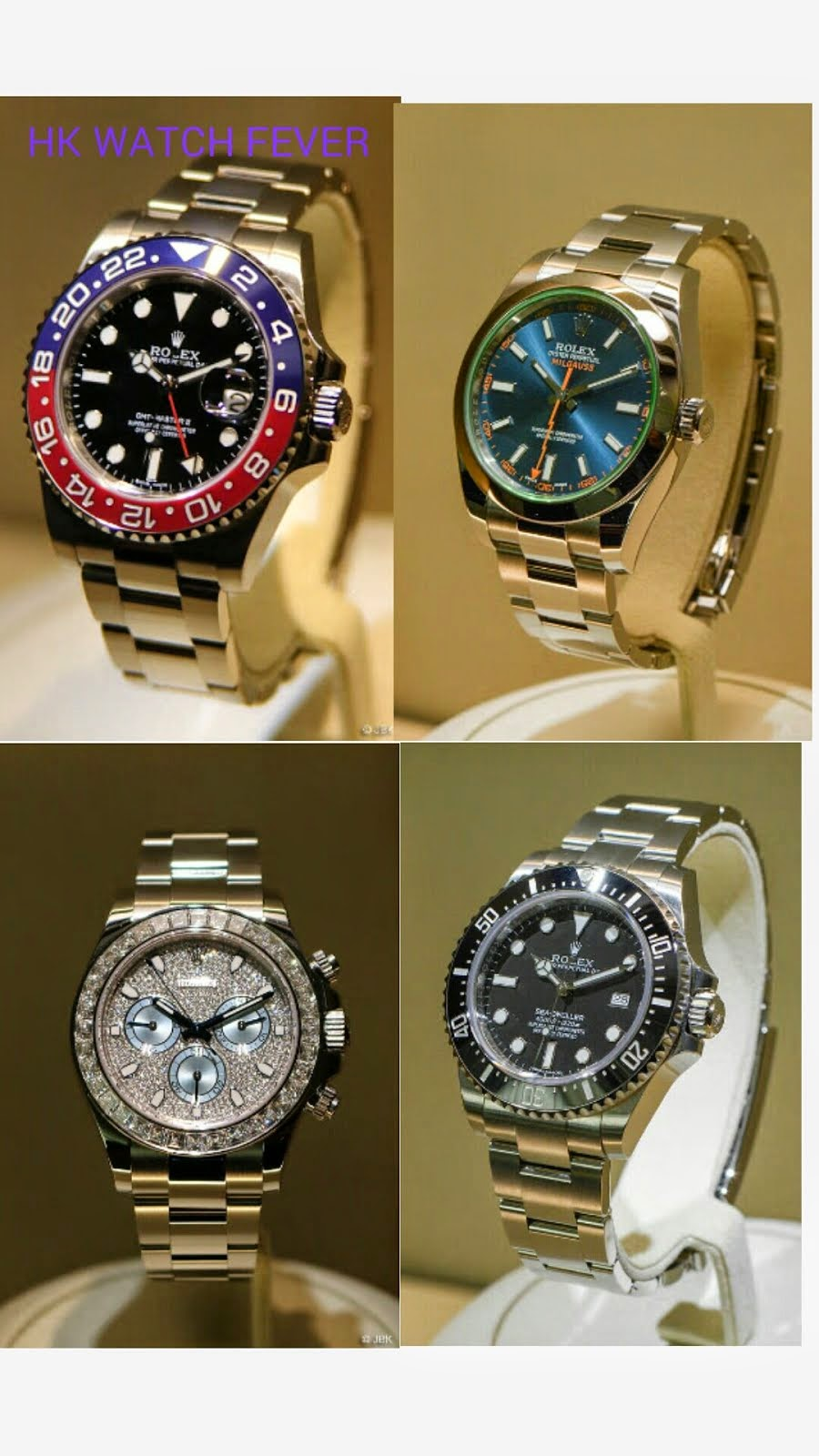 BaselWorld Rolex soon to arrive HK, Order Now!