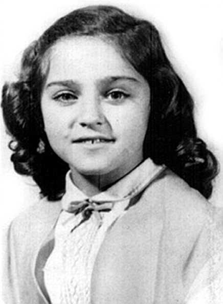 baby pictures of famous people Madonna