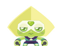 Peridot with removable legs