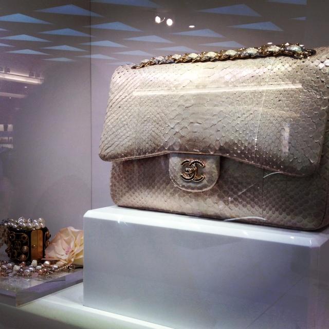 Chanel Flap, white Chanel Flap, Python flap, Designer purse, Chanel, HG bag, Holy Grail Purse, Jumbo flap